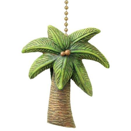 Clementine Design Palm Tree Fan Pull