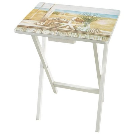 Evergreen Starfish TV Tray Table