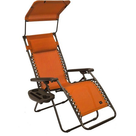 Bliss Hammocks Gravity Free Recliner With Canopy