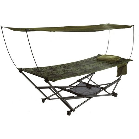 Bliss Hammocks Fern Jacquard Portable Hammock