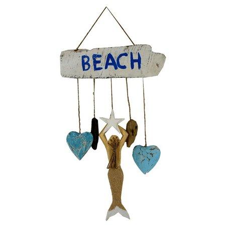Chesapeake Bay Mermaid Heart Dangler