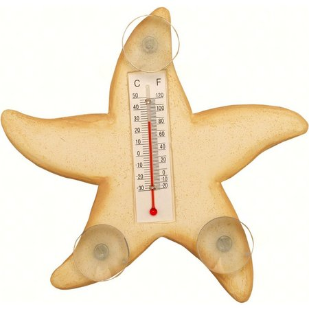 Songbird Essentials Starfish Patio Thermometers