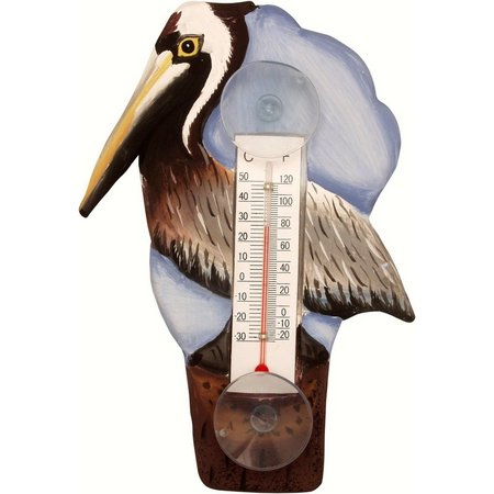 Songbird Essentials Pelican Patio Thermometer