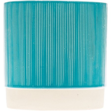 Home Essentials 5'' Aqua Textured Planter