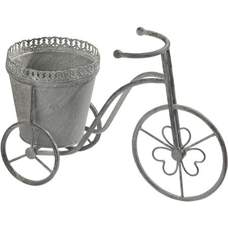 Home Essentials Metal Tricycle Planter