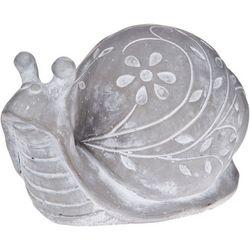 Home Essentials Cement Snail Figurine