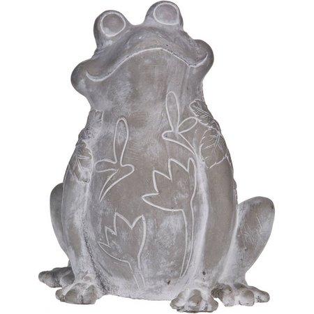 Home Essentials Cement Frog Figurine