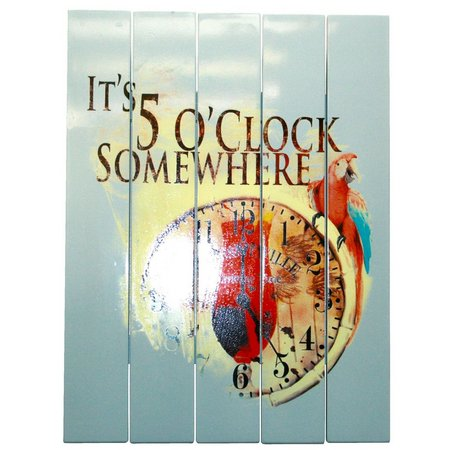 Margaritaville 5 O'Clock Somewhere Wall Art