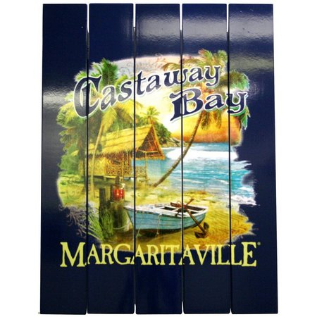 Margaritaville Castaway Bay Wall Art