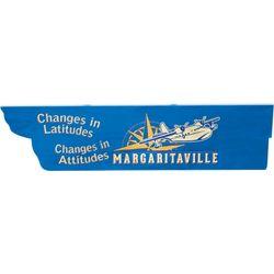 Margaritaville Changes In Latitudes Arrow Sign