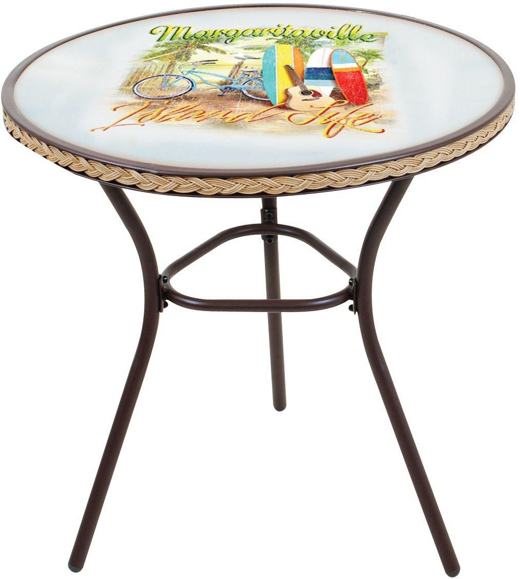 Charmant Margaritaville Island Life Bistro Outdoor Table