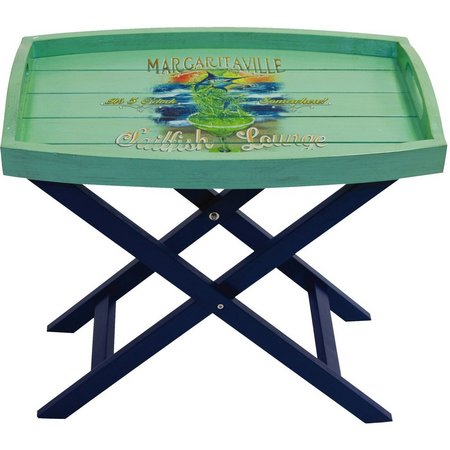 Margaritaville Sailfish Lounge Butler Table