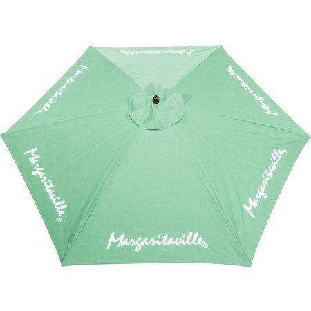 Margaritaville 9' Mint Green Market Umbrella
