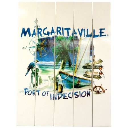 Margaritaville Port of Indecision Wall Art