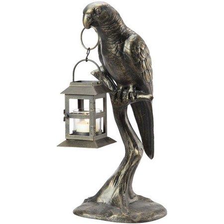 SPI Parrot Lantern Figurine