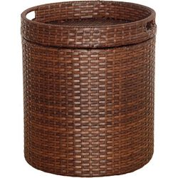 Style & Home Wicker Storage Table