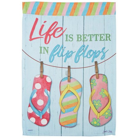 Carson Home Accents Life Is Better In Flip