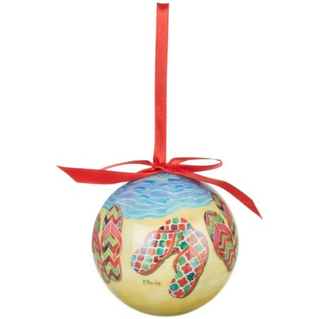 Brighten the Season Holiday Sandals Ornament