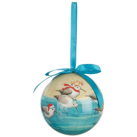 Brighten the Season Holiday Sandpipers Ornament