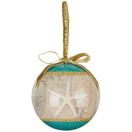Brighten the Season Beach House Florida Ornament