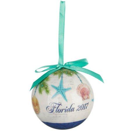 Brighten the Season Seas & Greetings Ball Ornament