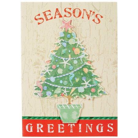 Brighten the Season Driftwood Beach Holiday Cards
