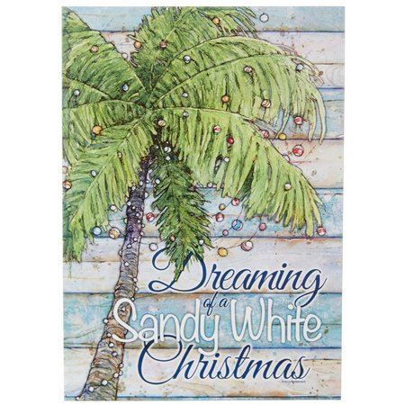 Brighten the Season Sandy White Christmas Cards