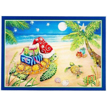 Brighten the Season Sea Turtle Greeting Card Box