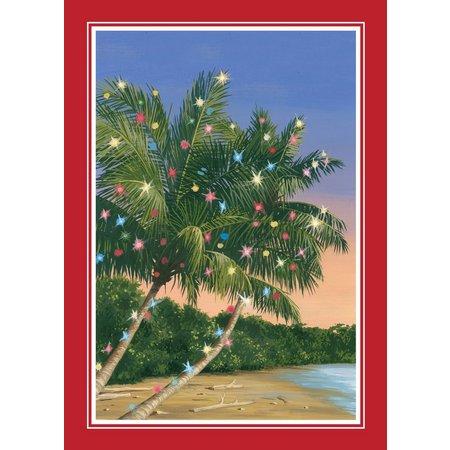 Brighten the Season Christmas Palm Tree Card Set