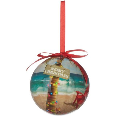 Brighten the Season Red Adirondack Chair Ornament