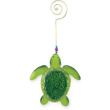 Cape Shore Metal Sea Turtle Ornament