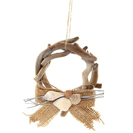 Gallerie II Driftwood Wreath Ornament