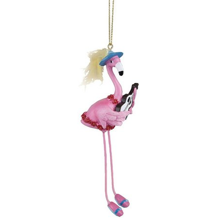Gallerie II Ukulele Flamingo Ornament
