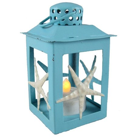 Brighten the Season LED Blue Lantern Ornament