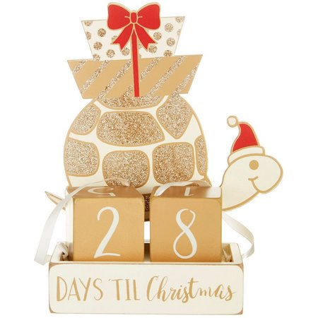 Primitives By Kathy Christmas Countdown Turtle