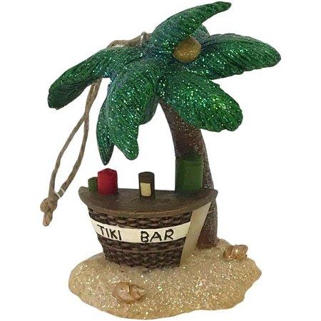 Brighten the Season Palm Tree & Tiki Bar
