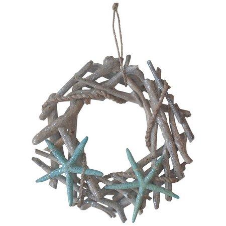 Brighten the Season 12 Christmas Wreath Ornament