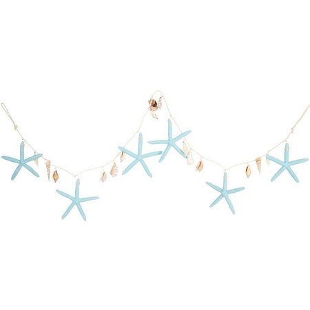 Brighten the Season Large 4'' Starfish Garland
