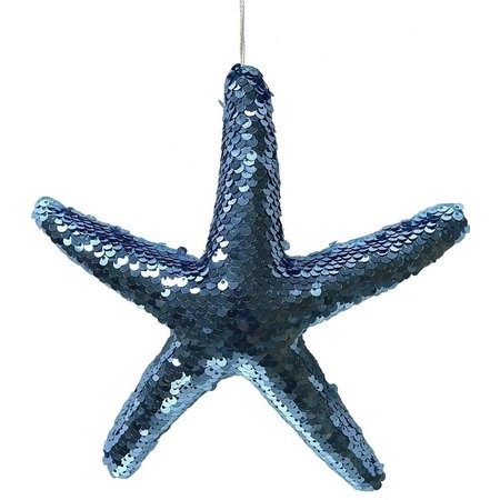 Brighten the Season Small Sequin Starfish Ornament