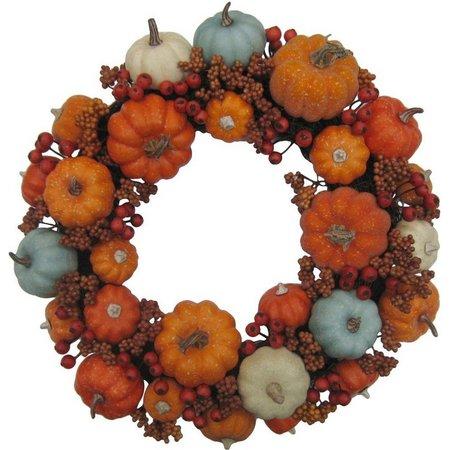 Brighten the Season 20'' Pumpkin Berry Wreath