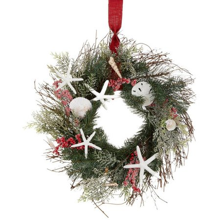 Brighten the Season Wreath Wall Decoration
