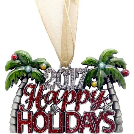 Brighten the Season 2017 Holidays Palm Ornament