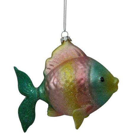 Brighten the Season Rainbow Fish with Glitter