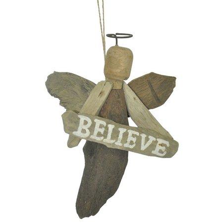 Brighten the Season Angel Believe Ornament