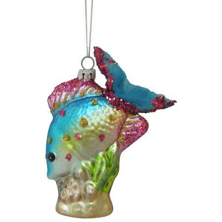 Brighten the Season Diving Tropical Fish Ornament