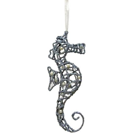 Brighten the Season Wire Seahorse Ornament