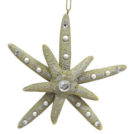 Brighten the Season Rhinestone Starfish Ornament