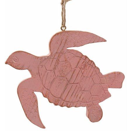 Brighten the Season Resin Turtle