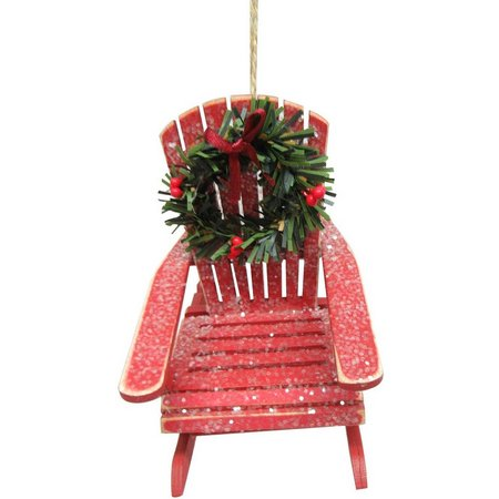 Brighten the Season Chair with Wreath Ornament