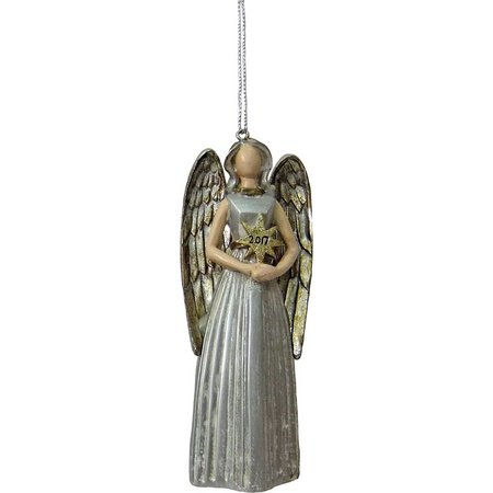 Brighten the Season Angel with Star Burst Ornament